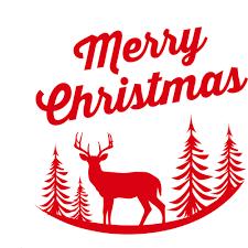 online shop christmas wall sticker deer tree decal household room