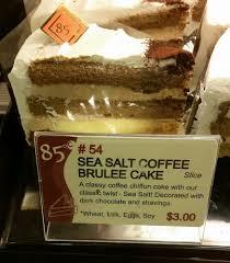 54 sea salt coffee brulee cake yelp