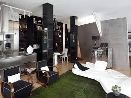 tappeti moderni bianchi e neri per arredare casa in bianco e nero