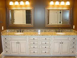 bathroom counter top ideas bathroom counter ideas framed mirrors and l shaped counter layout