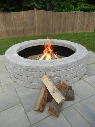 how to build a fireplace himself secure pleasant summer evenings