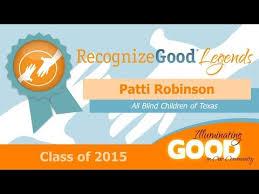 Prevent Blindness Texas Patti Robinson Recognizegood