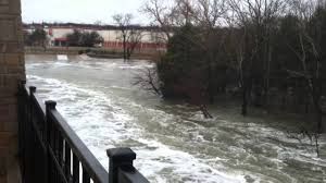 Table Rock Lake Flooding White Rock Lake Spillway Flood Youtube
