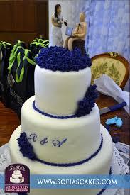 Royal Blue Wedding Jocelyn Design With Cake Topper Royal Blue Sofia U0027s Cakes Tagaytay