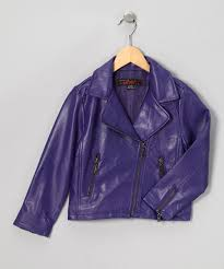 fall motorcycle jacket the whole shebang purple motorcycle jacket girls zulily