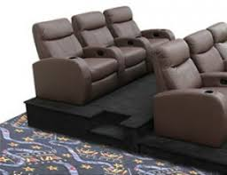 home theater seat risers movie seat platforms 4seating