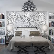 Schimmel Schlafzimmer Hinter Bett Kinlo 10 M 0 53 M Tapete 3d Aus Vlies Modern Wall Sticker