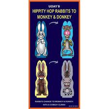 hippity hop rabbits hippity hop rabbits to monkey by uday trick