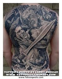 demons vs tattoos vs on back demonic