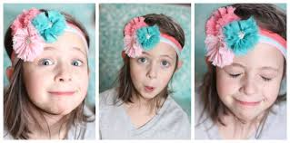 headband supplies easy elastic hair ties and headbands no sew with hairbow