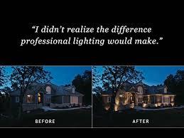 lighting around pool deck pittsburgh free nighttime outdoor lighting demonstration