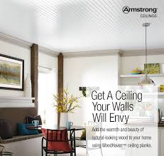 White Wood Ceiling by Shop Armstrong Ceilings Common 84 In X 5 In Actual 84 In X 5
