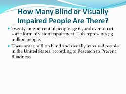 Neurological Blindness By Alaina Larson Blind What Is It Blindness Is The Condition