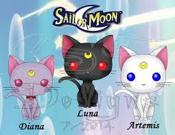 funko pop fan sailor moon cats by csf designs on deviantart