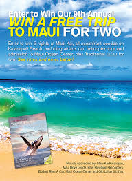 Hawaii How To Time Travel images Win a free trip to maui for two jpg
