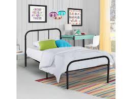 twin size metal platform bed frame modern home bedroom furniture