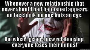 Relationship Memes Facebook - joker mind loss memes quickmeme
