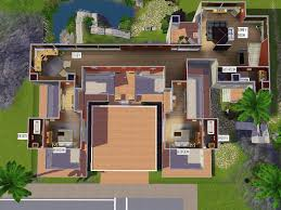 house plans home plans amp garage the sims 3 house designs modern