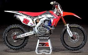 motocross bikes honda motocross action magazine inside the works honda hrc crf450 grand