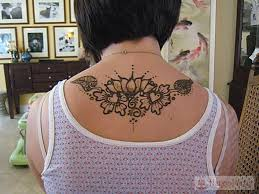 back and chest henna designs henna