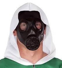 Apocalypse Halloween Costume Goth Steampunk Cosplay Gas Mask Zombie Apocalypse Halloween