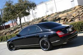 lexus coupe on 24s 2008 maybach 57s with 22
