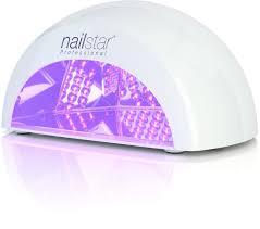 nailstar professional led nail dryer nail lamp for shellac and