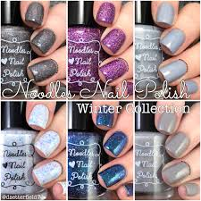 noodles nail polish winter collection snacks on rotation
