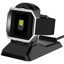 Fitbit Standing Desk Amazon Com Kartice For Fitbit Blaze Charger Charging Stand