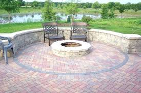 Brick Firepit Brick Pit Diy Patio Ideas Building A Gas Pit In Your