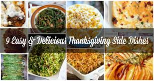 9 easy delicious thanksgiving side dishes sugar crumbs