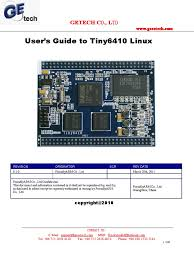 get user u0027s guide to tiny6410 linux file transfer protocol ip