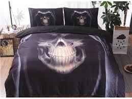 Black Comforter King Size Skull Comforter King Size Beddinginn Com