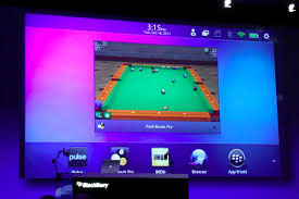 rim shows off android apps running on blackberry playbook video