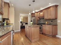 Nice Kitchen Cabinets by Kitchen With Wood Cabinets Home Decorating Interior Design
