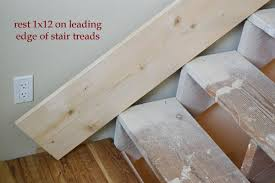 How To Install Banister Stair Skirts Ana White Woodworking Projects