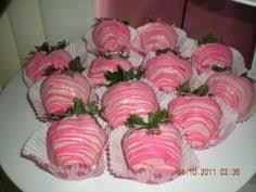 White Pink Chocolate Covered Strawberries Strawberry Wedding Favors As Chocolate Chocolate Covered