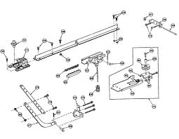 Legacy Overhead Door Wiring Diagram And Parts List For Craftsman Garage Door Opener To
