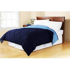 Comforters From Walmart Mainstays Reversible Comforter Collection Walmart Com