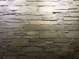 steinwand wohnzimmer montage haus renovierung mit modernem innenarchitektur kühles steinwand