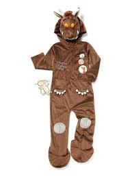 brown costume fancy dress brown gruffalo costume 1 8 years tu clothing