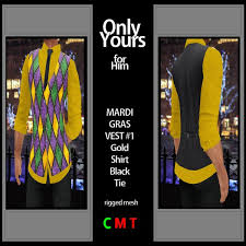 mardi gras vests second marketplace only yours for him mens mesh mardi