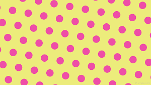 yellow with pink polka dots wallpaper hexagon pink polka dots yellow ecec7b ee4ea7 diagonal 50