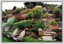 Sloped Front Yard Landscaping Ideas - sloped yard landscape design landscape design ideas for sloped