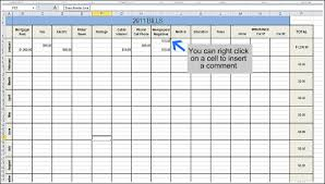 Spreadsheet Examples For Budget by Track Your Finances Andrea Dekker