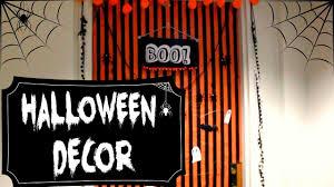 halloween door decor 2016 dorm room youtube