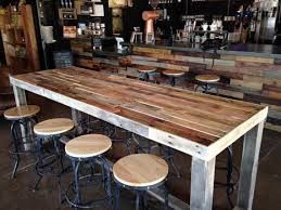 High Bar Table And Stools Awesome Community Tables Are Great As Casual Meeting Tables Bar