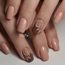 light brown nail polish 55 stylish brown nail art ideas