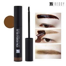 light brown gel eyeliner reddy long lasting tattoo eyebrow pack 10g peel off 7 days eyebrow