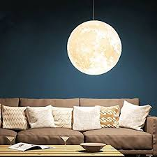 Moon Ceiling Light Gahaya 14 Moon Pendant L 3d Printing Ceiling Light